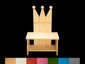 Kronenbank/Kronenstuhl für Kinder